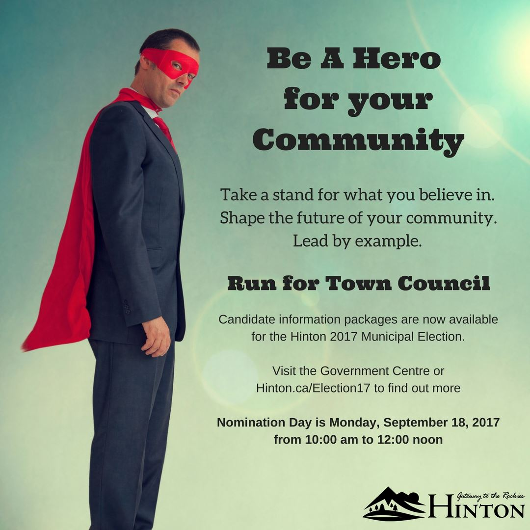 (Run) Be A Hero for your Community Print Ad 1