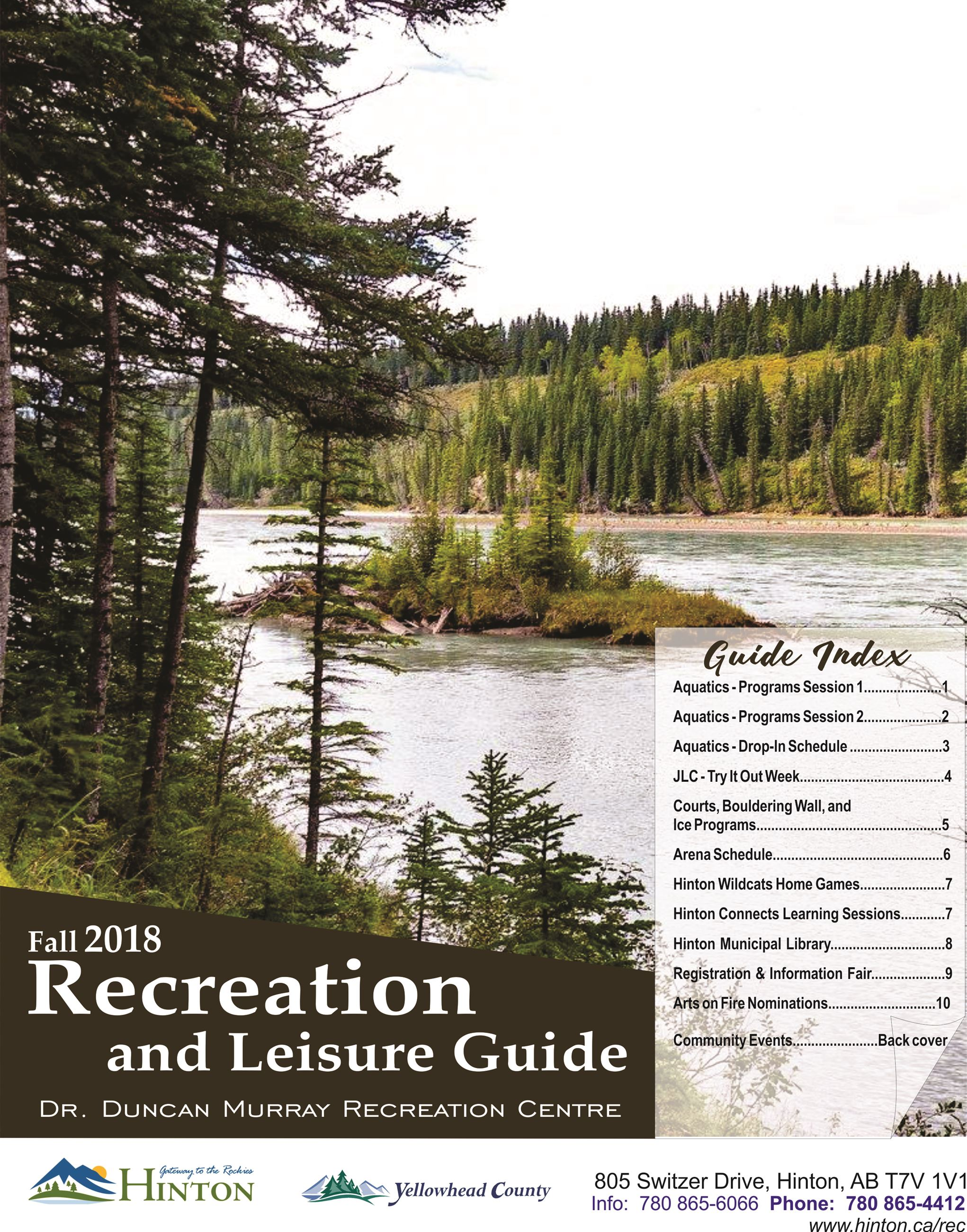 2018 Fall Guide - Cover Image