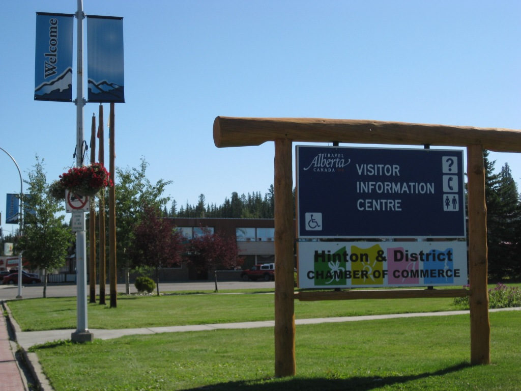 Photo of Welcome to Hinton sign